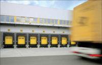 Подъемно-секционные промышленные ворота SPU F42