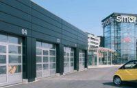 Подъемно-секционные промышленные ворота ALR F42 Glazing