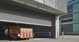Промышленные рулонные ворота