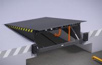 Платформа с поворотной аппарелью Alutech SL